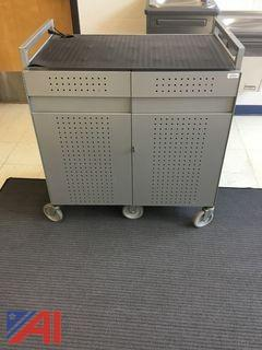(16) Slot Laptop Charging Cart