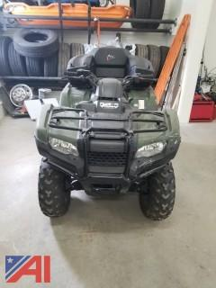 2015 Honda Rancher ATV