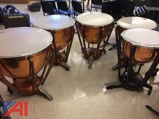 (5) Timpani Drums