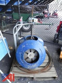 MyTana M81 Sewer & Drain Cable Cleaning Unit
