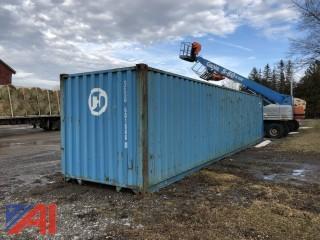 40' Steel Storage Container