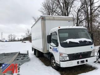 **Reserves Lowered** 2007 Mitsubishi Fuso Box Truck