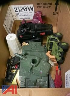 Large Lot of Star Wars and G.I. Joe Toys