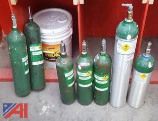 (7) Compressed Oxygen Tanks