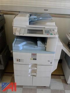 (2) Lanier Copiers with Finishers