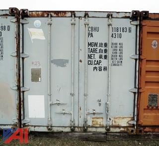 40' Standard Steel Storage Container