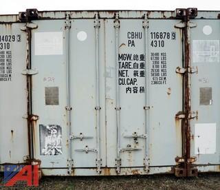 40' Standard Steel Storage Container
