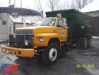 1993 Ford FT900F Sludge Mixer