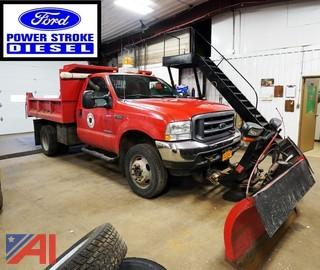 2004 Ford F550 XL SD 4WD Dump & Plow Truck