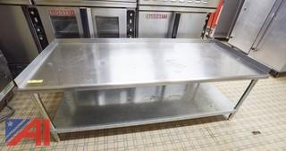 Stainless Steel 6' Equipment Stand