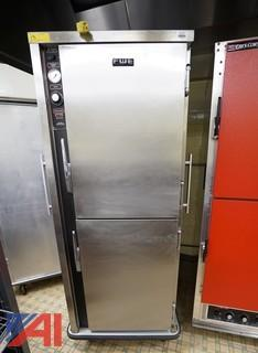 FWE 2 Door Heated Holding/Transport Hot Food Cabinet