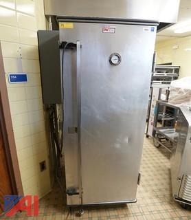 Hussmann 1 Door Heated Holding/Proofer Transport Hot Food Cabinet