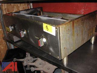 Qualite 36 inch Flattop Gas Grill