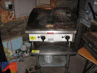 Toastmaster Char-grill and Stand