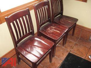 (8) Heavy Duty Chairs