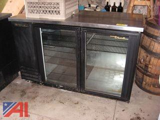 True 2 Glass Door Cooler
