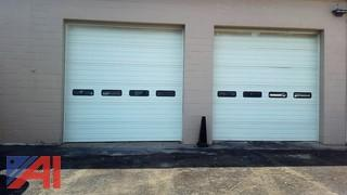 (2) 12ft x 12ft Overhead Doors
