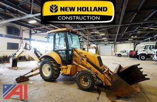1997 Ford/New Holland 555E Loader Backhoe