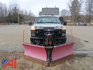 2008 Ford F250 Utility Truck with Plow