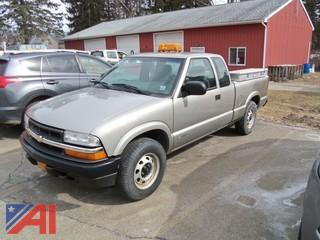 2002 Chevy S10 Pickup