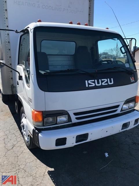 2000 Isuzu NPR Box Truck. U2039u203a