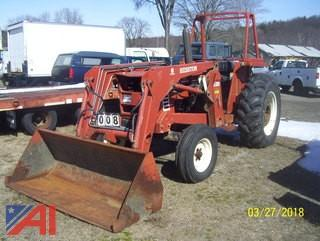 1986 Hesston 70-66 Tractor with Bucket