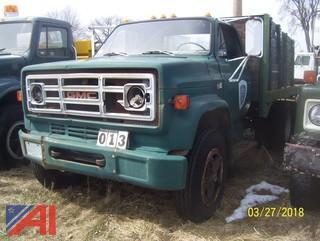 1981 GMC 7000 Rack Dump
