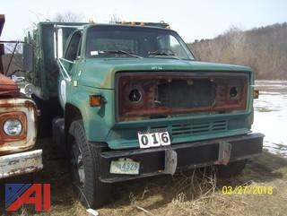 1981 Chevy C70D042 Rack Dump