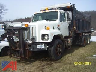 2002 International 2654 Dump Sander Combination with Plow