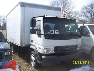 2007 Ford LCF550 Box Truck