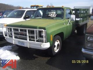 1980 GMC 3500 Stake Body