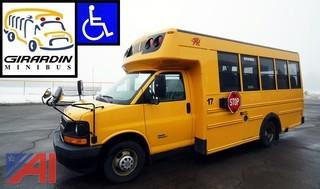 2009 Chevy Girardin 4500 Mid Size School Bus/Wheel Chair/#17