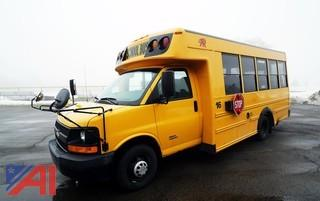 2009 Chevy Girardin 4500 Mid Size School Bus #16