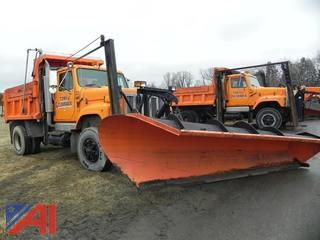 1995 International 2574 Dump Truck with Plow