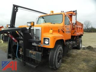 1992 International 2574 Dump Truck with Plow & Wing