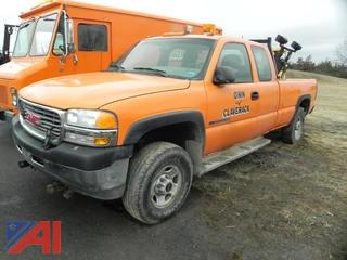 2001 GMC Sierra 2500 HD Pickup