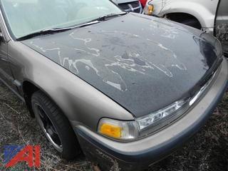 1991 Honda Accord 4 Door Sedan