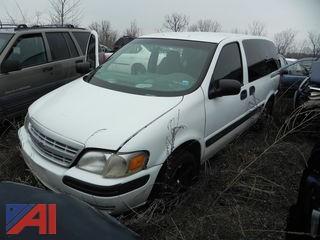 2001 Chevy Venture Mini Van