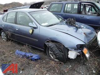 2000 Nissan Altima 4 Door Sedan