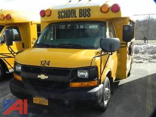 2012 Chevy G3500 Express School Bus
