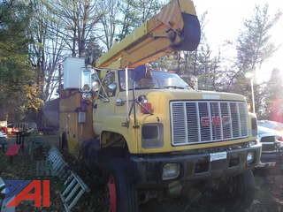 1992 GMC C7H042 Bucket Truck