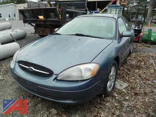 2000 Ford Taurus 4 Door