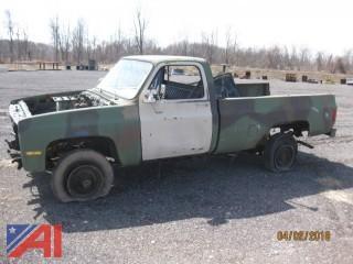 1986 Chevrolet D3P Pickup