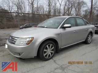 **Engine Picture Added** 2008 Ford Taurus 4 Door