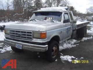 1988 Ford F450 SD Roll Back Truck