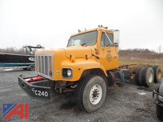 2002 International 267 Cab and Chassis (For Parts Only)