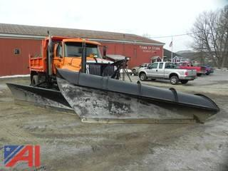 2007 International 7500 Dump Truck with Plow & Wing