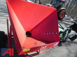 Lely Model W Large Application Broadcast Spreader w/ Manual