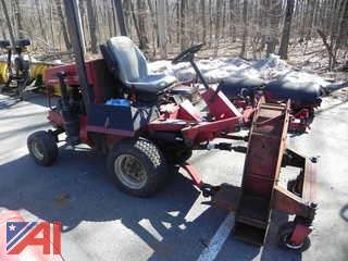 1989 Toro Groundsmaster 345 w/ Mower, Broom & Blower