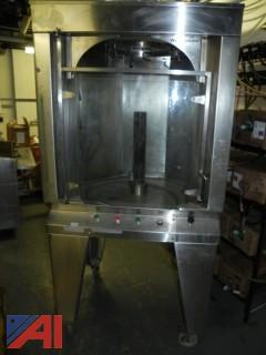 WoodStone Gas Fired Commercial Rotisserie WS-GVR-10-NG